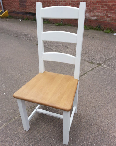 Ladder back chair - Country Life Furniture - Quality Interiors