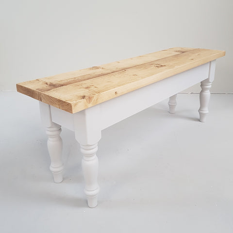 Shabby chic and reclaimed rustic Benches - Country Life Furniture - Quality Interiors
