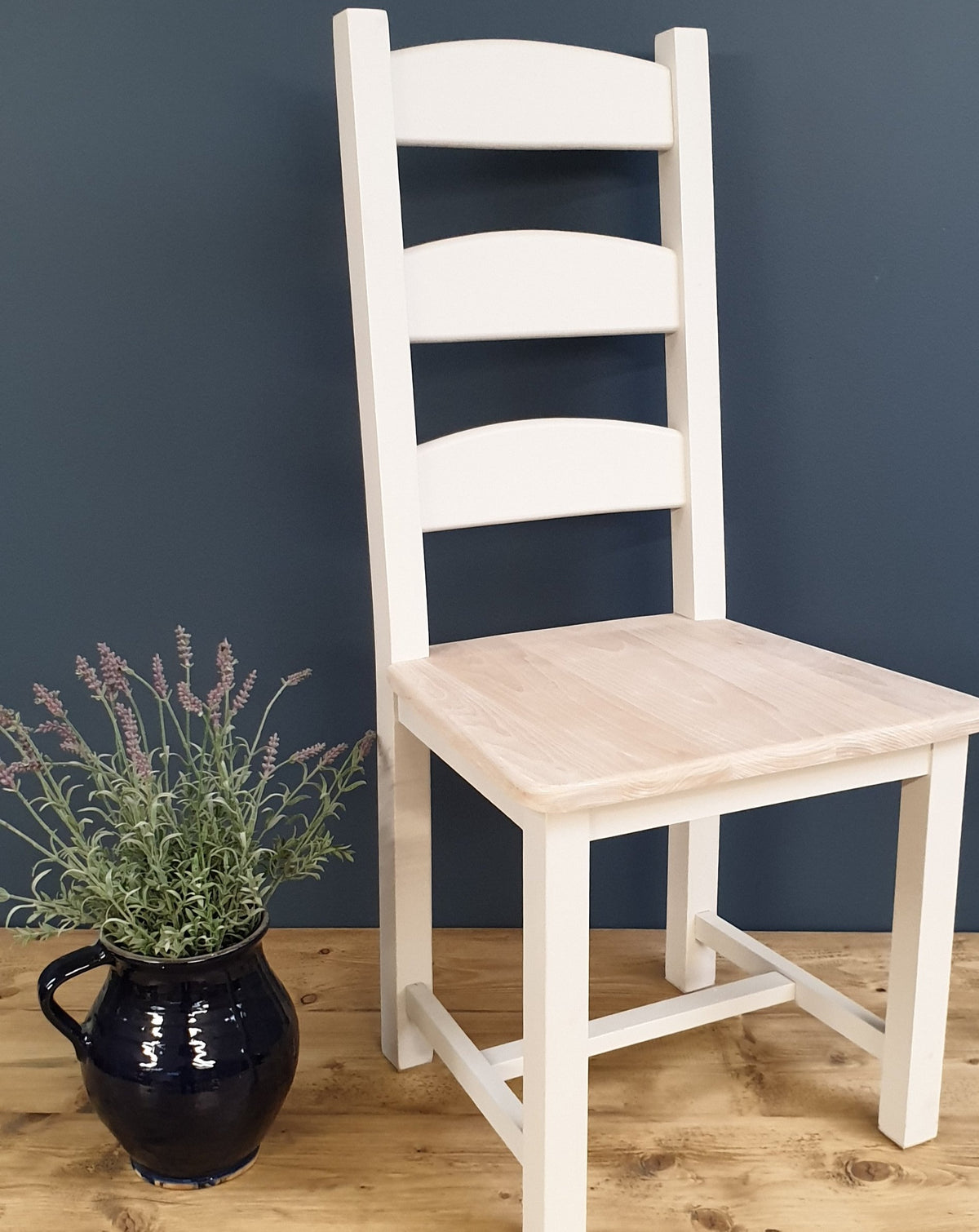 Ladder Back Chairs Painted In Any Colour From Farrow Ball Country Life Furniture Quality Interiors