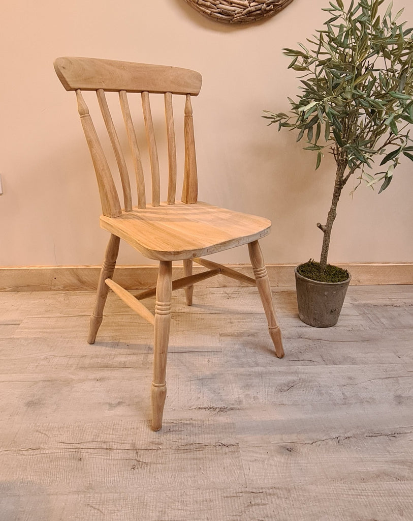 Rustic Slatback Chair Country life furniture