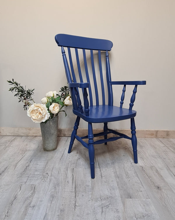 Painted Grandfather Chair