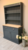 Kitchen dresser painted in 'Railings'