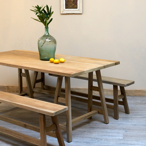 Vintage Trestle Table - Country life furniture