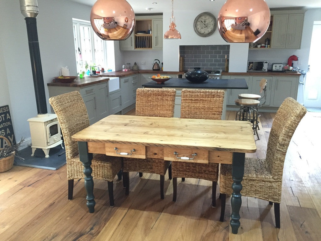 large tables rustic from dining reclaimed barn farmhouse table wood