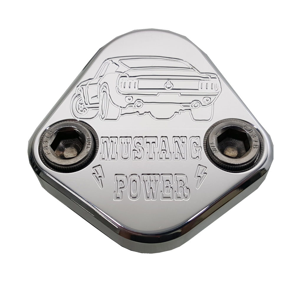 Fuel Pump Block Off Plate Fits Ford 351 Cleveland Engines F120