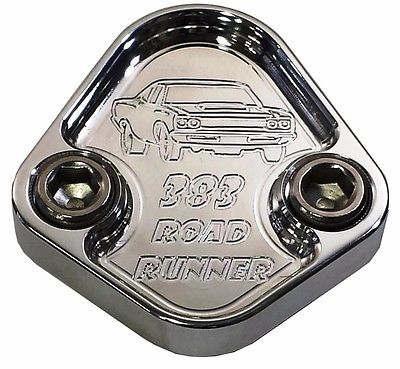 Fuel Pump Block Off Plate Fits Plymouth Mopar Roadrunner 383 Engines F062