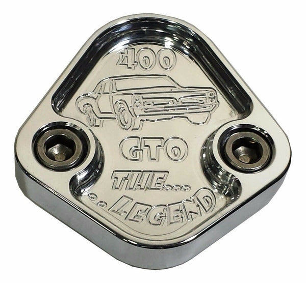 Fuel Pump Block Off Plate Fits Pontiac 400 GTO Lemans Engines F032