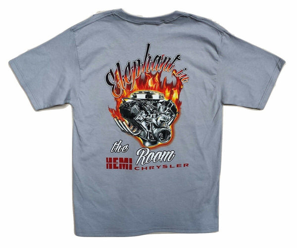 HEMI Chrysler T-Shirt Custom 354, 392, 426, 472 V8 Chrysler Dodge Ram