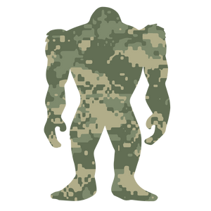 Camo Squatch (jungle)