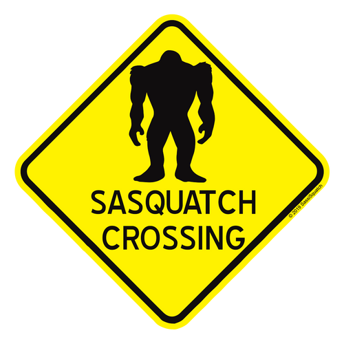 WHOLESALE 25pack -- SQUATCH CROSSING (with type)