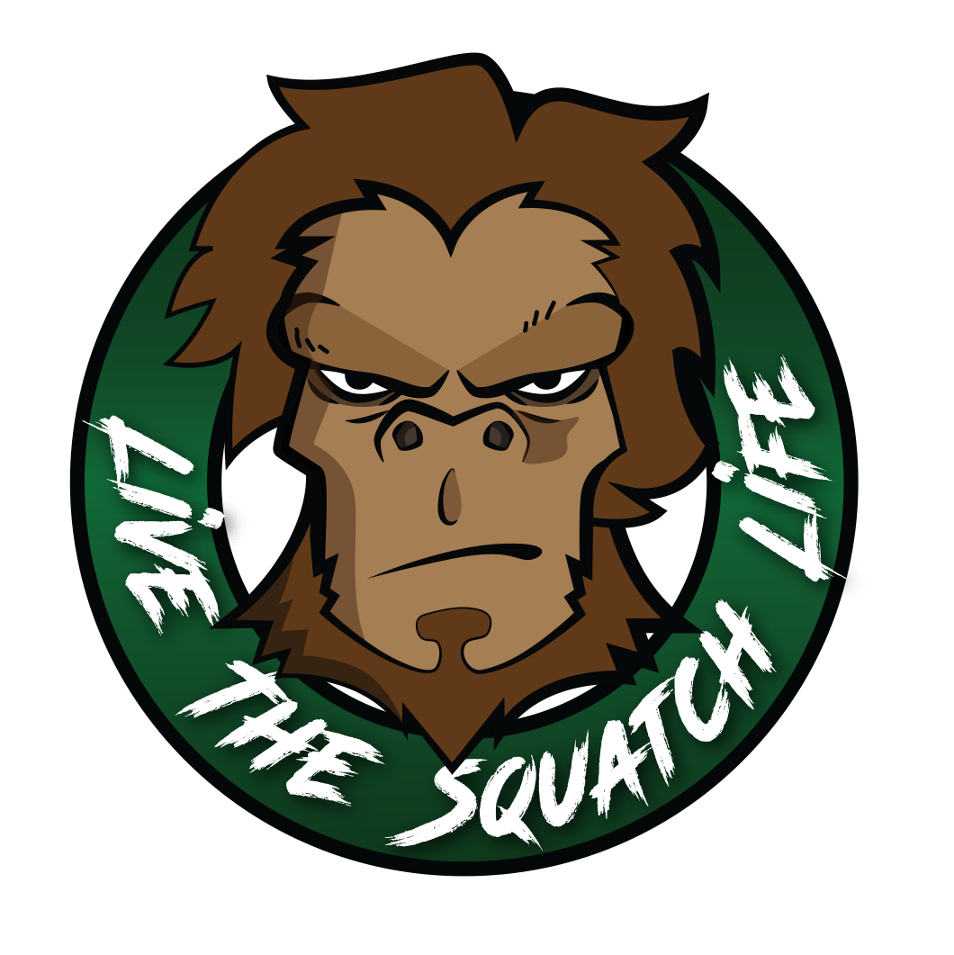 WHOLESALE 25pack -- Live the Squatch Life