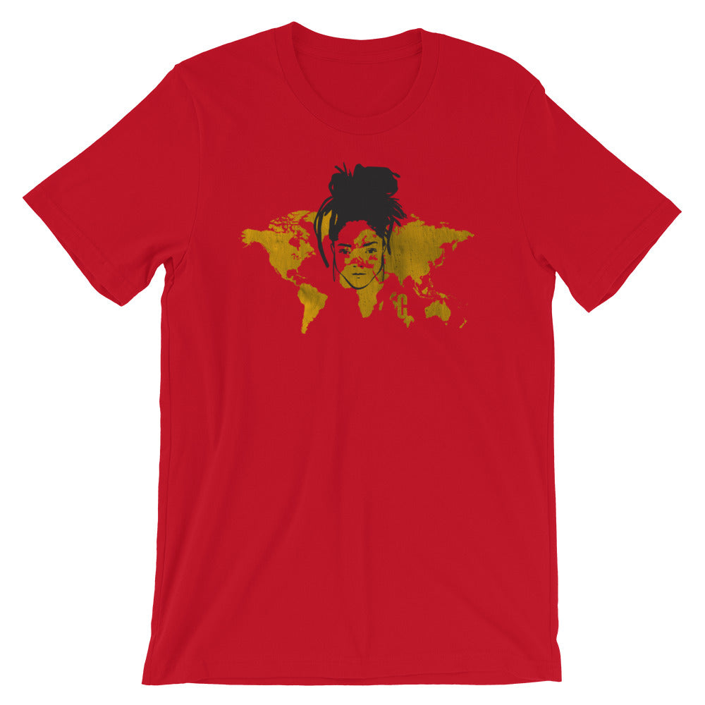 Women's Rasta Empress Crew Neck