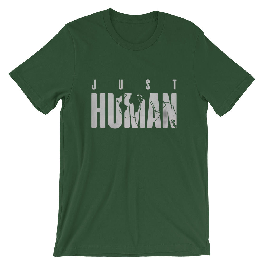 Men's JUST HUMAN Grey Ice Crew Neck