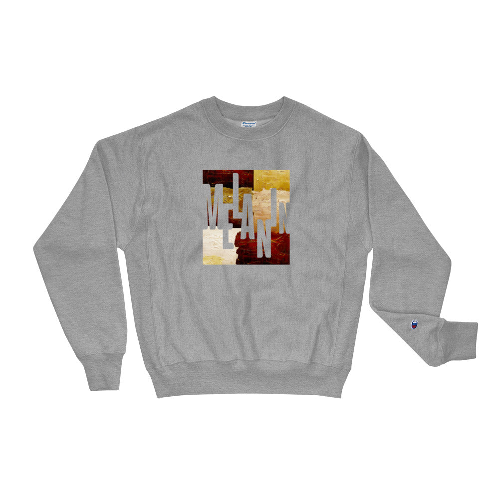 Men's Melanin Painted Champion Sweatshirt