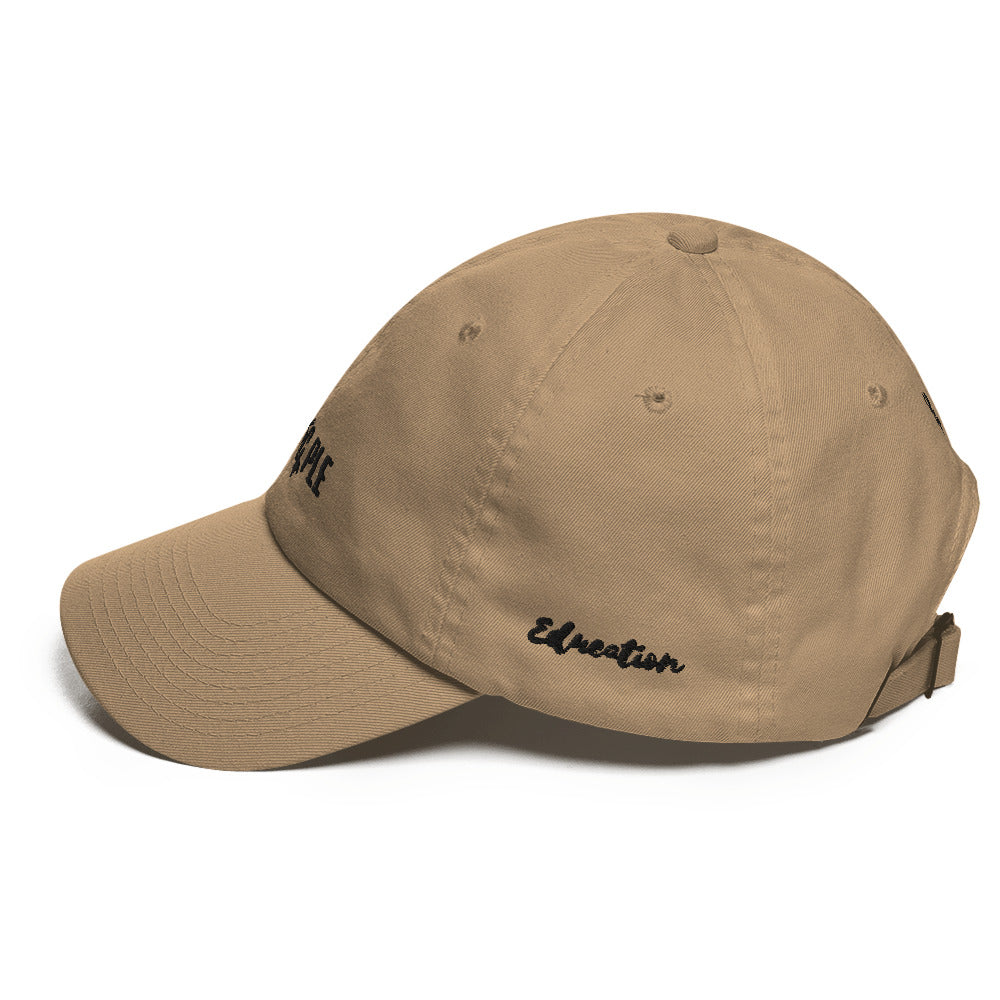 Special Edition Black PrinCple Fashion & Education Dad Hat