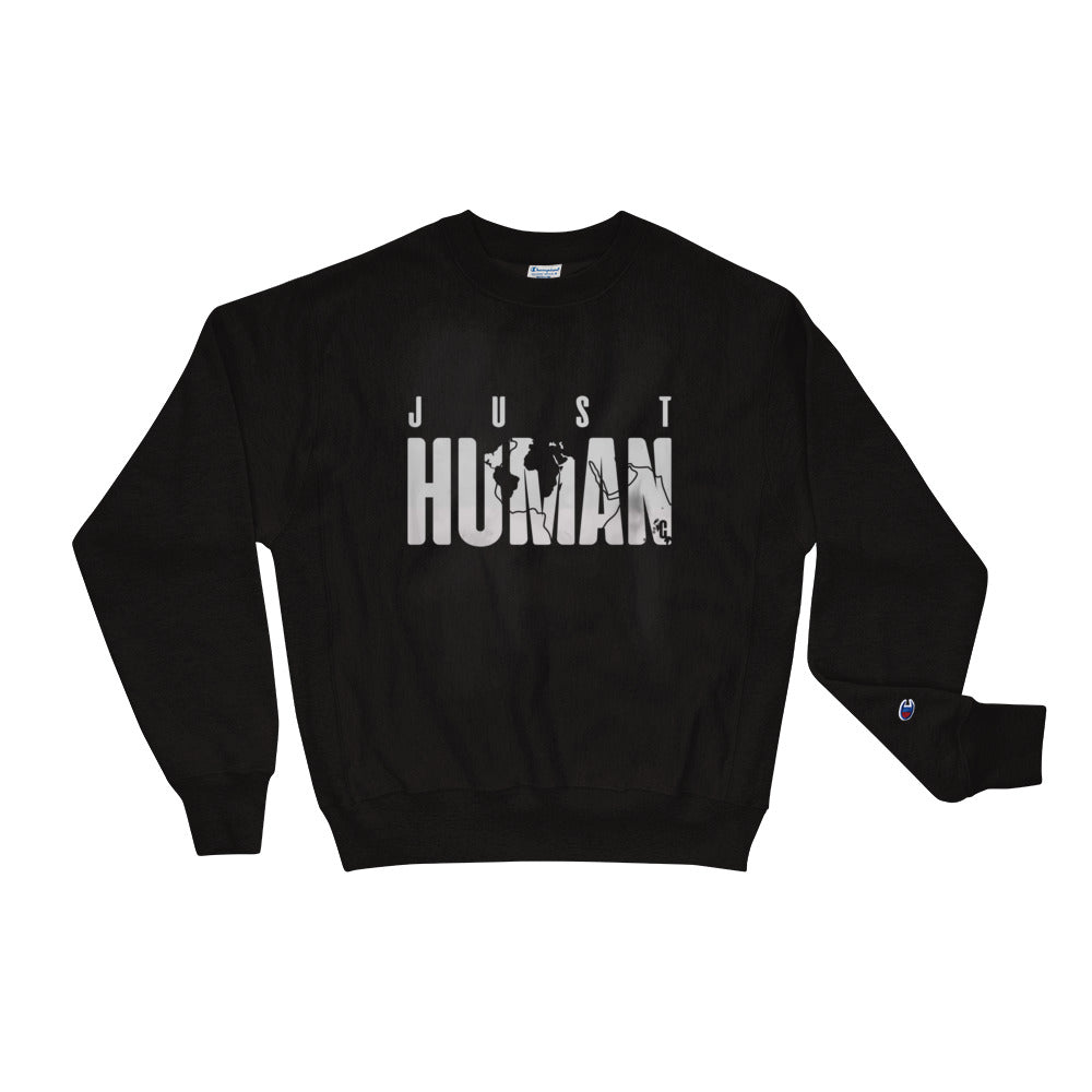 Men's JUST HUMAN Grey Ice Champion Sweatshirt