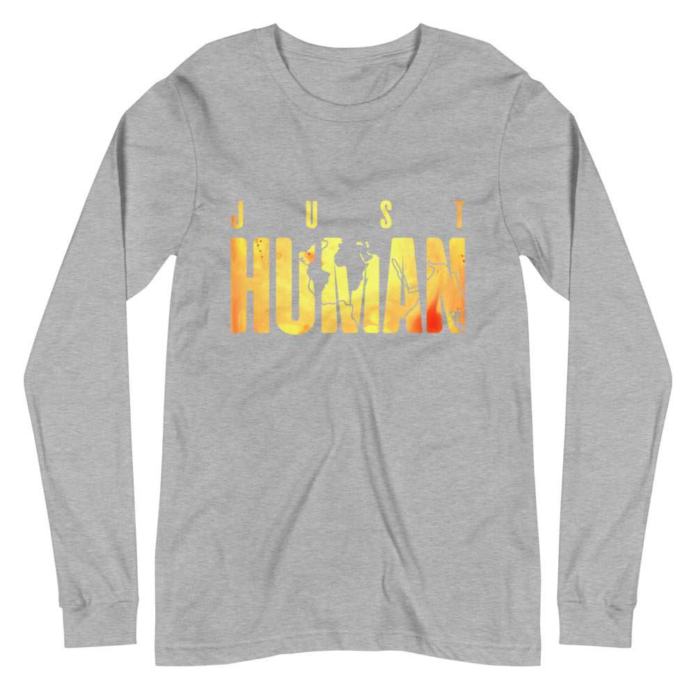 Women's JUST HUMAN Sunrise Long Sleeve Crew Neck