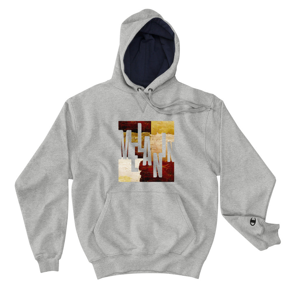 Men's Melanin Painted Loose Fit Champion Hoodie
