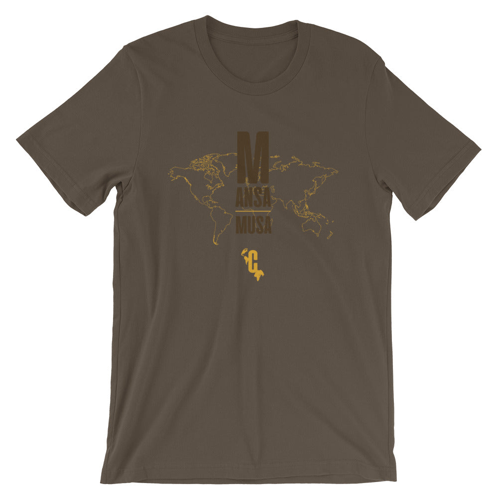 Men's Mansa Musa Mapped Crew Neck