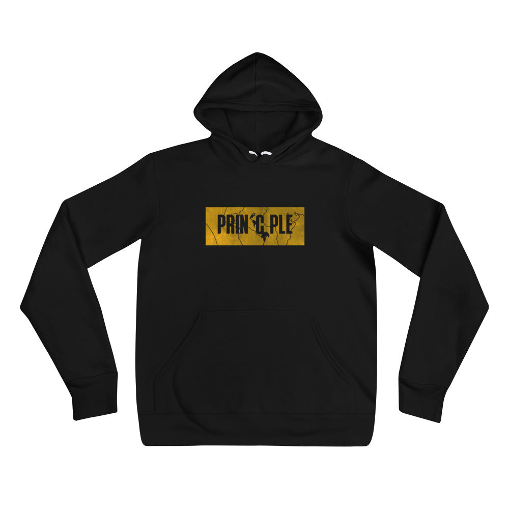 Women's PrinCple Gold Knockout Pullover Hoodie