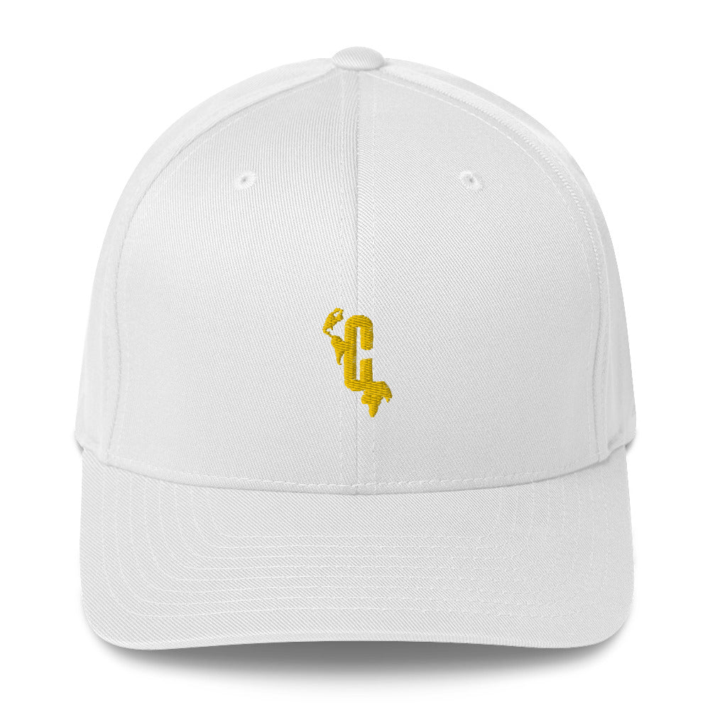 PrinCple Logomark Flexifit Structured Closed-Back Twill Yellow Cap