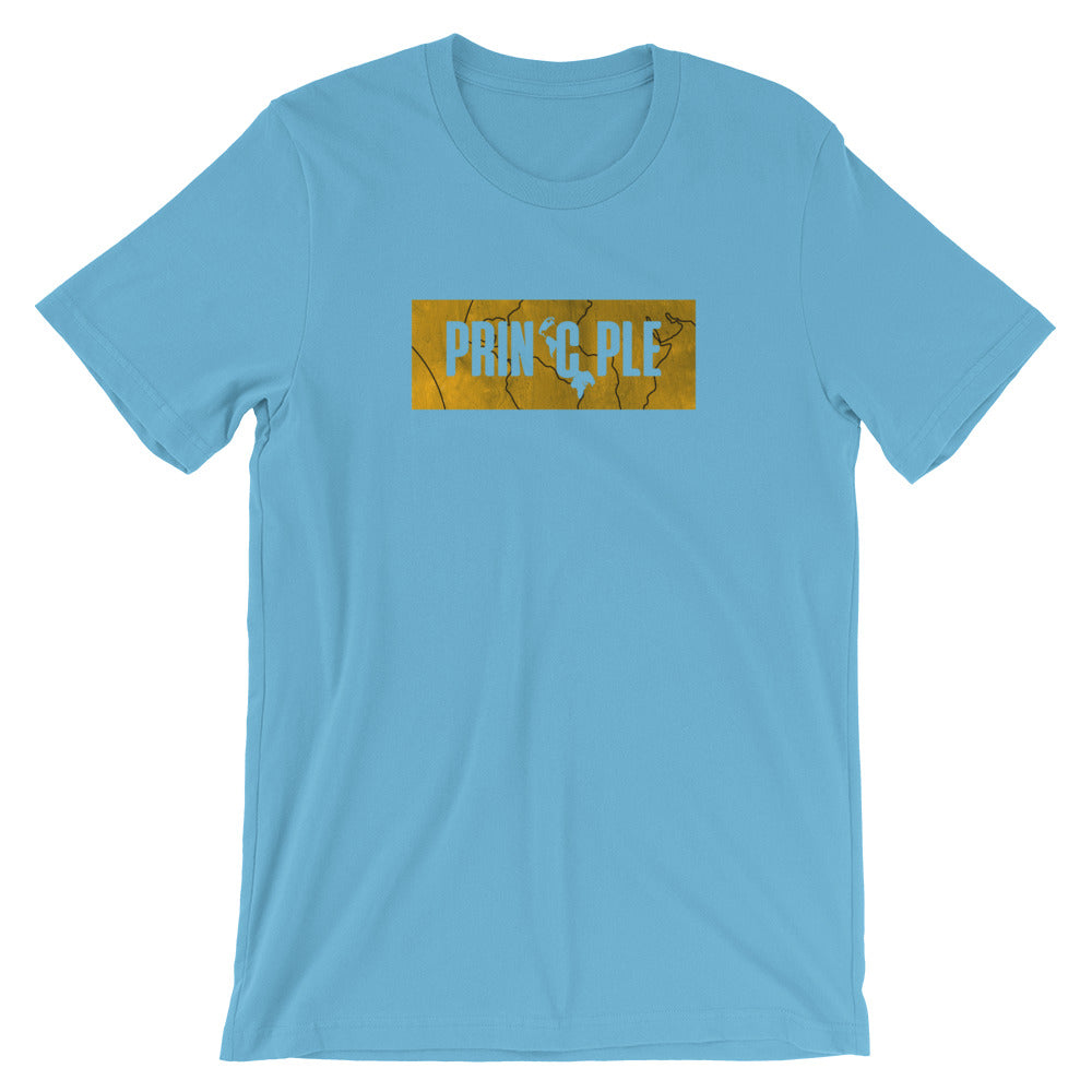 Men's PrinCple Gold Knockout Crew Neck