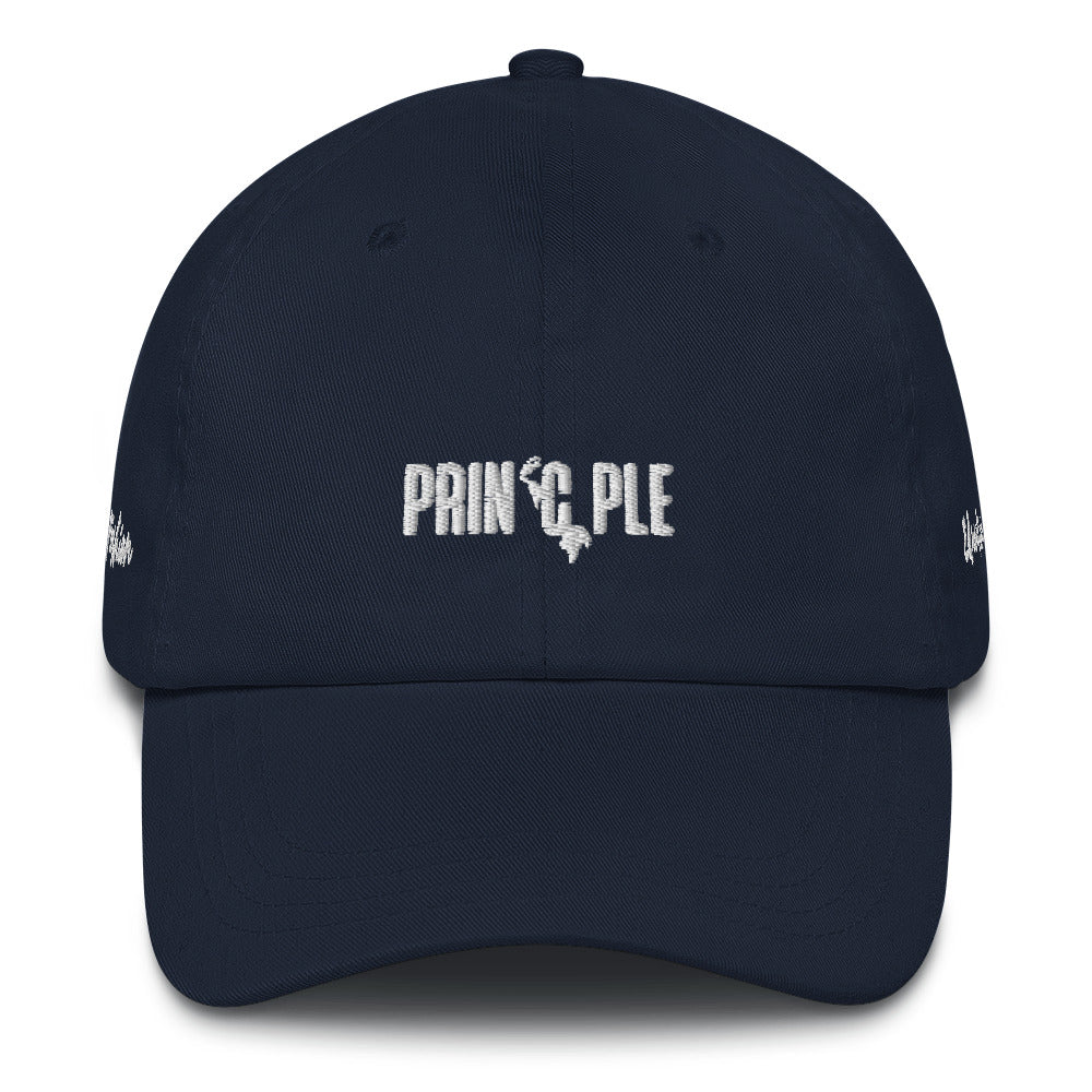 Special Edition White PrinCple Fashion & Education Dad Hat
