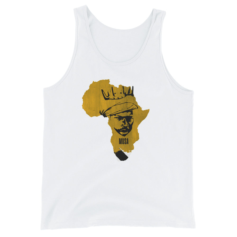 Men's Mansa Musa Slim Fit Tank Top