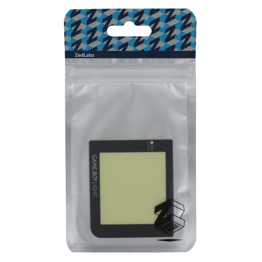 Screen lens for Game Boy Pocket for modding to Game Boy Light replacement  plastic cover | ZedLabz