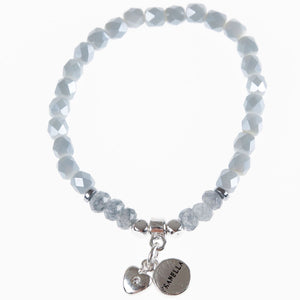 Pranella Larissa Grey Bracelet - Villancher Gifts &  Fashion Accessories