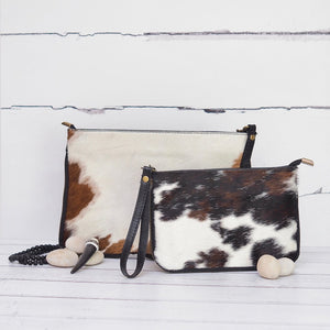 Medium Clutch Animal Print Pony