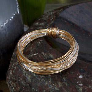 BAS Gold & Silver Bracelet - WAS £35 - Villancher Gifts &  Fashion Accessories