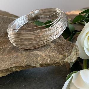 BAS Aphrodite Bangle Silver - Villancher Gifts &  Fashion Accessories