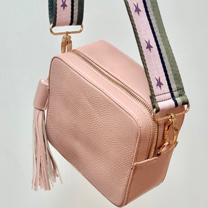 Lilly Cross-Body Camera bag Rose Blush - Villancher Gifts &  Fashion Accessories