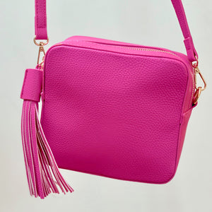 Lilly Cross-Body Camera bag Hot Pink - Villancher Gifts &  Fashion Accessories