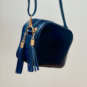 Tilly Cross-Body Double Zip Bag 5 - Villancher Gifts &  Fashion Accessories