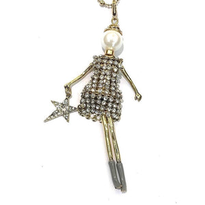 French Doll Necklace Juliette - Villancher Gifts &  Fashion Accessories