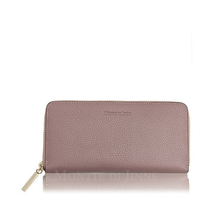 Estelle Leather Wallet Dusty Pink - Villancher Gifts &  Fashion Accessories