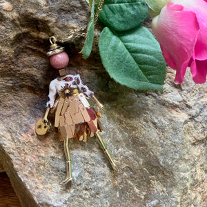 Medium French Diva Doll Necklace Helena - Villancher Gifts &  Fashion Accessories