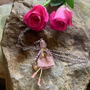 Medium French Diva Doll Necklace Clarisse - Villancher Gifts &  Fashion Accessories