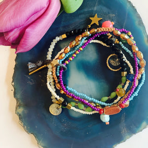 Moon˚C Terra Multi Layered Bracelet - ONLY 2 LEFT - Villancher Gifts &  Fashion Accessories