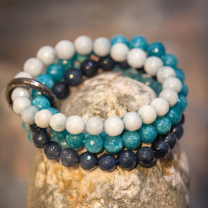 Moon˚C Otranto Bracelet Blue - WAS £25 - Villancher Gifts &  Fashion Accessories