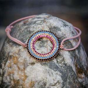 Moon˚C Valeria Pink Adjustable Bracelet - Villancher Gifts &  Fashion Accessories
