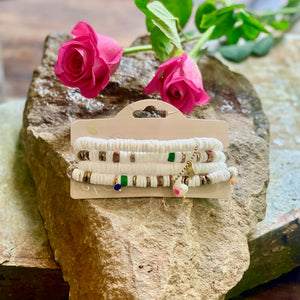 Moon˚C Santorini Multi Layered Bracelet - Villancher Gifts &  Fashion Accessories