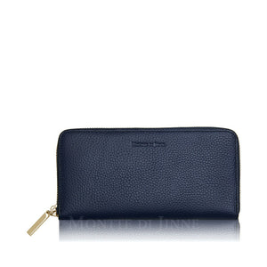 Estelle Leather Wallet Navy - Was £39- - Villancher Gifts &  Fashion Accessories