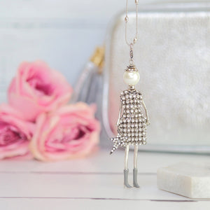 French Diva Doll Necklace Julie - Villancher Gifts &  Fashion Accessories