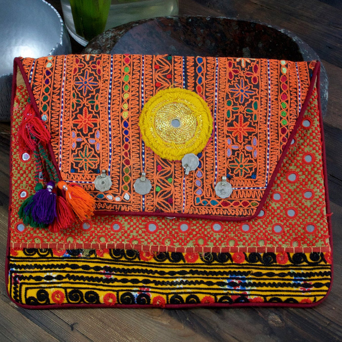 Madame Hippy Bag Orange - Was £59 ( last one) - Villancher Gifts &  Fashion Accessories