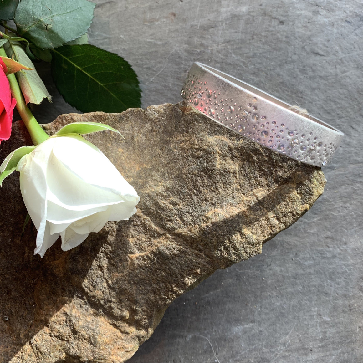 Tutti&Co annabelle silver bangle with diamonte - Villancher Jewellery &  Fashion Accessories