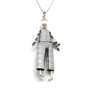 French Diva Doll Necklace Edith