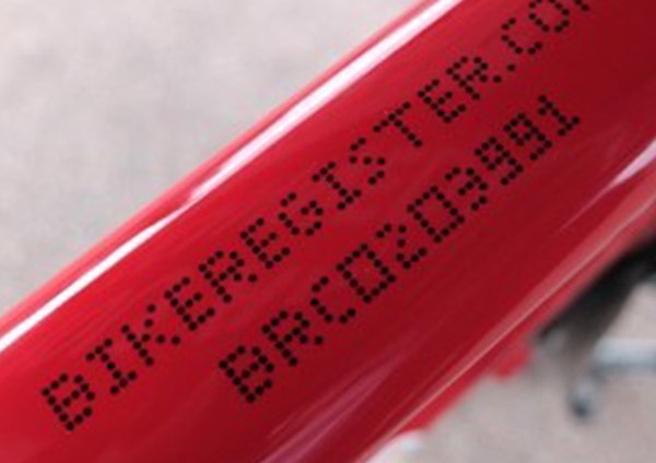 How to get your bike safe with bike marking